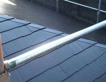 屋根塗装仕上り