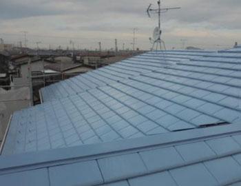 屋根・仕上がり状況