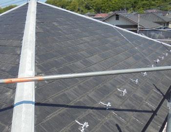 【コロニアル屋根】施工前