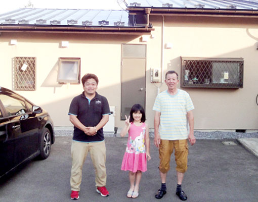 宮城県黒川郡の蜂屋様インタビュー