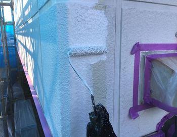 外壁クラック補修4