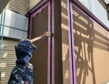外壁プライマー塗布